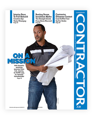 Canadian Contractor Magazine Cover