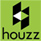 Houzz logo button