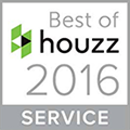 2016 Houzz Best in Service Award