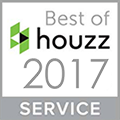 2017 Houzz Best in Service Award