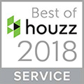 2018 Houzz Best in Service Award