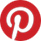 Pinterest logo button